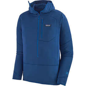 Patagonia R1 Pullover Hoody Herre superior blue